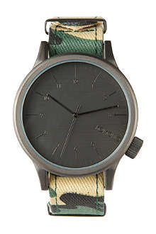 KOMONO Wooland Camo printed watch