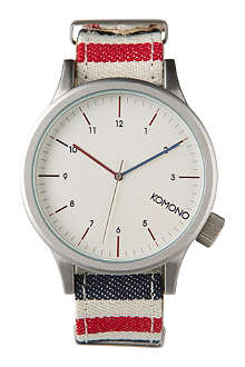 KOMONO Paravent large printed watch