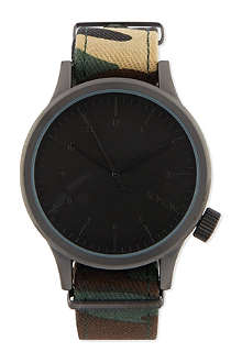 KOMONO Magnus Print Series woodland camo watch