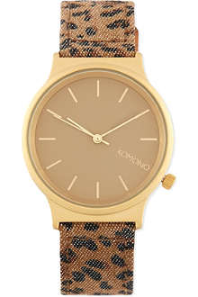 KOMONO Wizard Print Series - Leopard watch