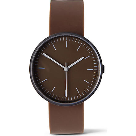 UNIFORM WARES 100 Series wristwatch (Brown
