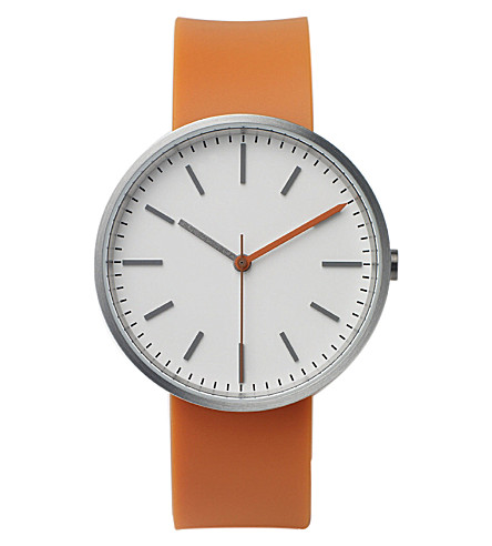 UNIFORM WARES 104 series watchwatch (Orange