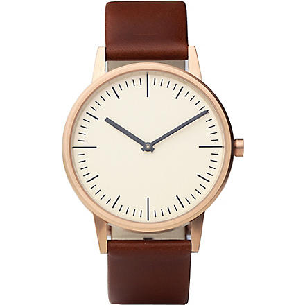 UNIFORM WARES 150 Series wristwatch (Brown
