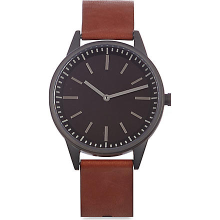 UNIFORM WARES 251/KK01 series wristwatch (Gunmetal