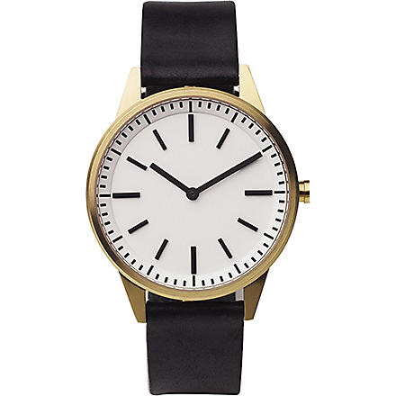 UNIFORM WARES 251/SG01 series wristwatch (Black