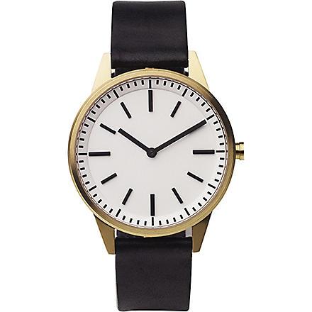 UNIFORM WARES 251/SG01 series wristwatch (Black