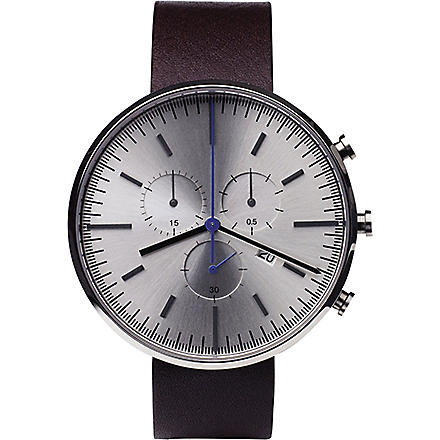 UNIFORM WARES 302/BR02 series wristwatch (Mahogany
