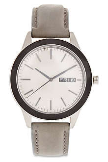 UNIFORM WARES Grey strap 351 series watch