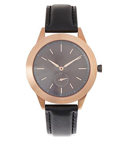 UNIFORM WARES 351RG01 351 series watch (Rg / black