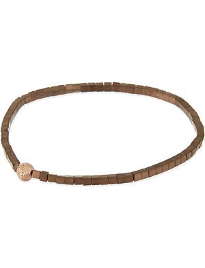 LUIS MORAIS Square bead bracelet