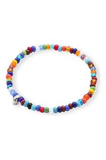 LUIS MORAIS Skull bead bracelet