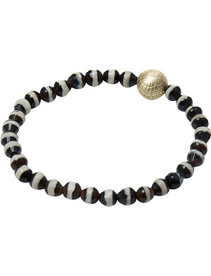 LUIS MORAIS Zebra bead bracelet