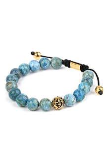 NIALAYA Marble beaded bracelet