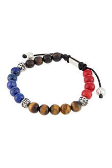 NIALAYA Coloured bead bracelet