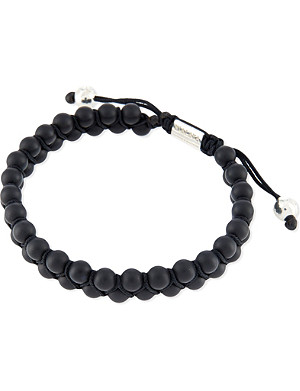 NIALAYA Double-band beaded bracelet
