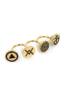 AMBUSH Crest knuckle ring