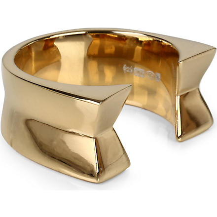 DOMINIC JONES Otto side ring (Gold