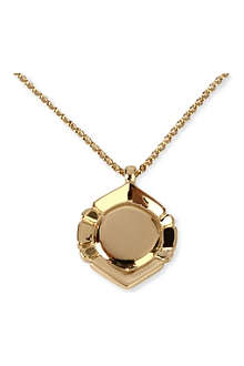DOMINIC JONES Salvatore circle pendant