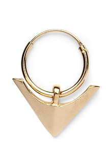 DOMINIC JONES Singular arrow head earring