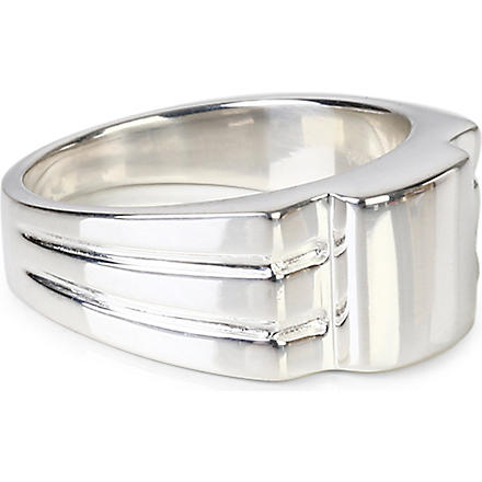 DOMINIC JONES Samson ring (Silver