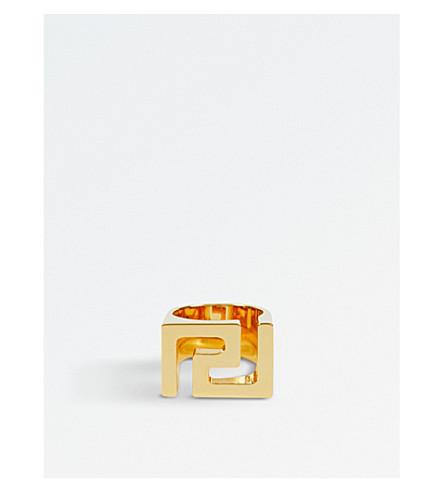 VERSACE Greca gold-tone ring (Gold