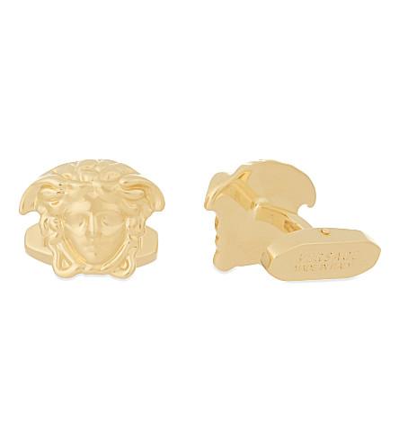 VERSACE Medusa gold-tone cufflinks (Gold