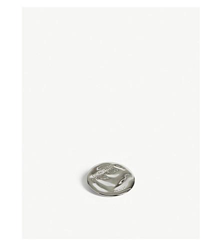 AMBUSH Generic pin silver badge (Silver