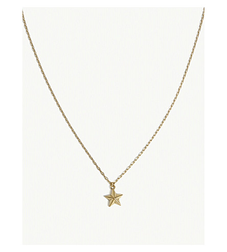 AMBUSH All-Star pendant necklace (Gold