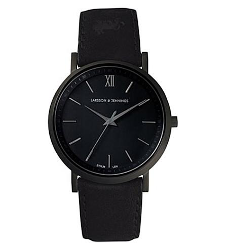 LARSSON & JENNINGS Lugano stainless steel watch (Svart