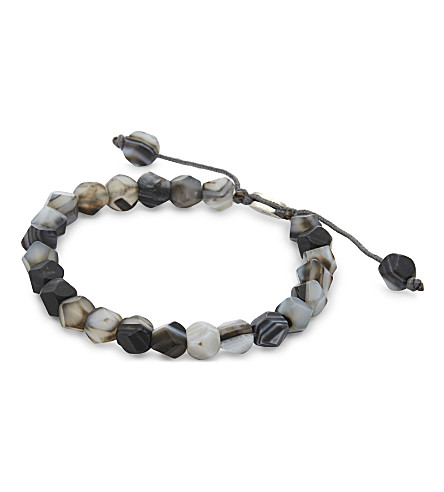 M. COHEN Deca 10 bracelet (Sil+bwa