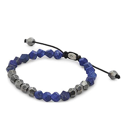 M. COHEN Deca 10 silver beaded bracelet (Sil+mlp