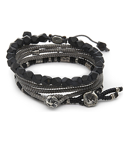 M. COHEN The Create Stack II bracelet (Sil+grey