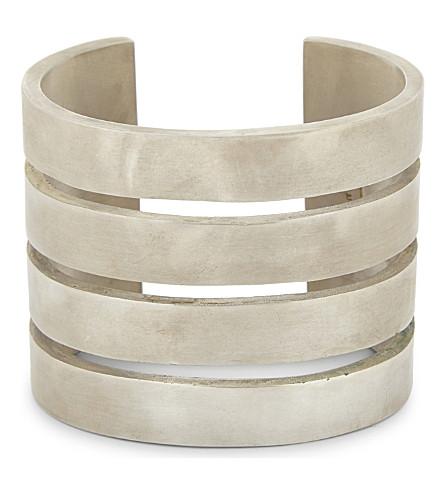 PARTS OF FOUR Ultra Reduction slit bracelet (Silver