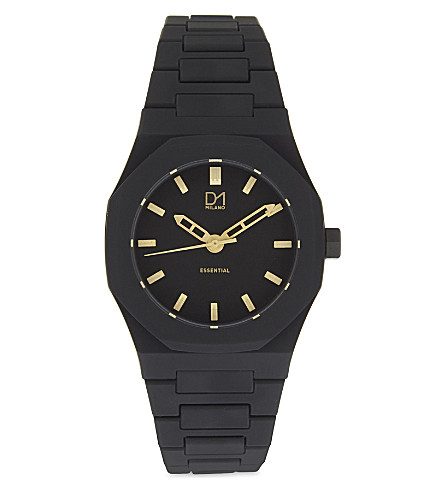 D1 A-ES02 watch (Black+gold