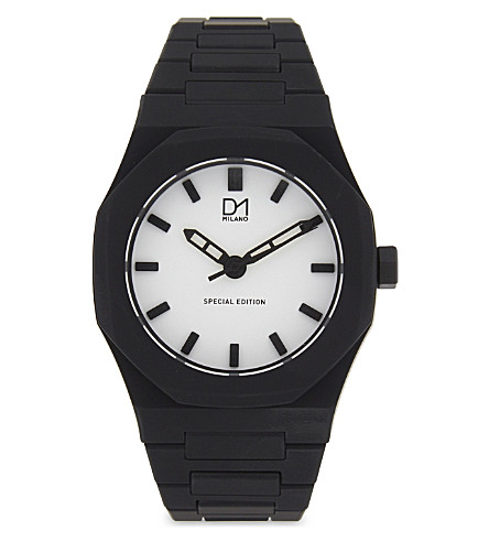 D1 Special Edition L-SF01 quartz watch (Black+white