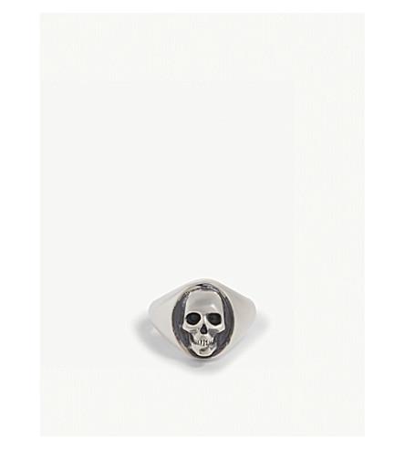 NORTHSKULL Skull signet ring (Silver