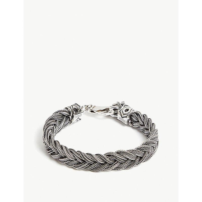 EMANUELE BICOCCHI Fishtail sterling silver bracelet