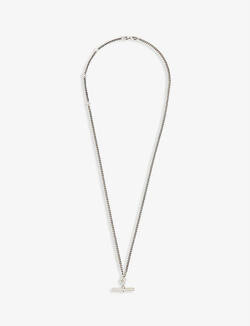 塞格·德尼姆斯 T-酒吧银项链