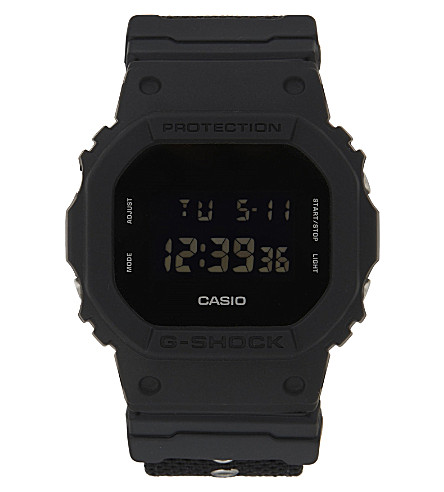 G-SHOCK DW-5600BBN-1ER Back to Black watch (Black