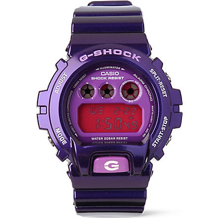G-SHOCK DW6900CC6ER crazy colour watch (Purple