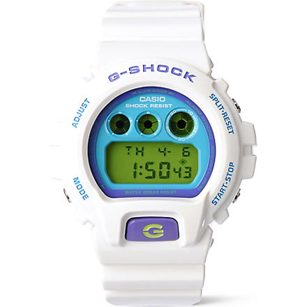G-SHOCK DW-6900CS-1ER watch (White