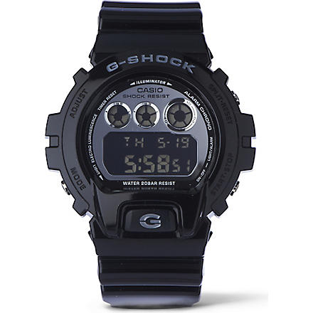 G-SHOCK DW6900NB Crazy Colour watch (Black