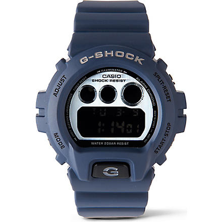 G-SHOCK DW6900HM-2 Classic Series watch (Blue
