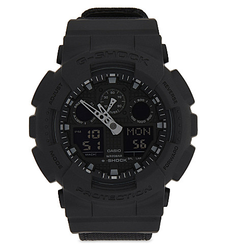 G-SHOCK GA-100BBN-1AER watch (Black
