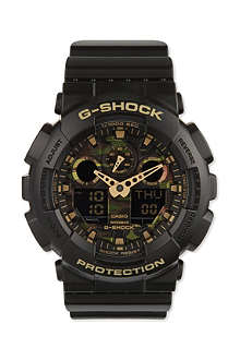 G-SHOCK GA-100CF-1A9ER camouflage watch
