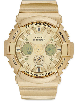 G-SHOCK GA-200GD auto LED watch