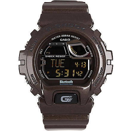 G-SHOCK Bluetooth digital watch (Brown