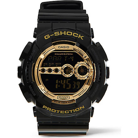 G-SHOCK GD100GB1ER Shock–resistant watch (Black