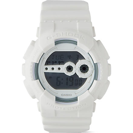 G-SHOCK GD100WW-7 Hyper Complex watch (White