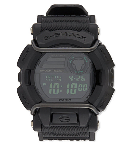 G-SHOCK GD400 Military 3434 watch (Black